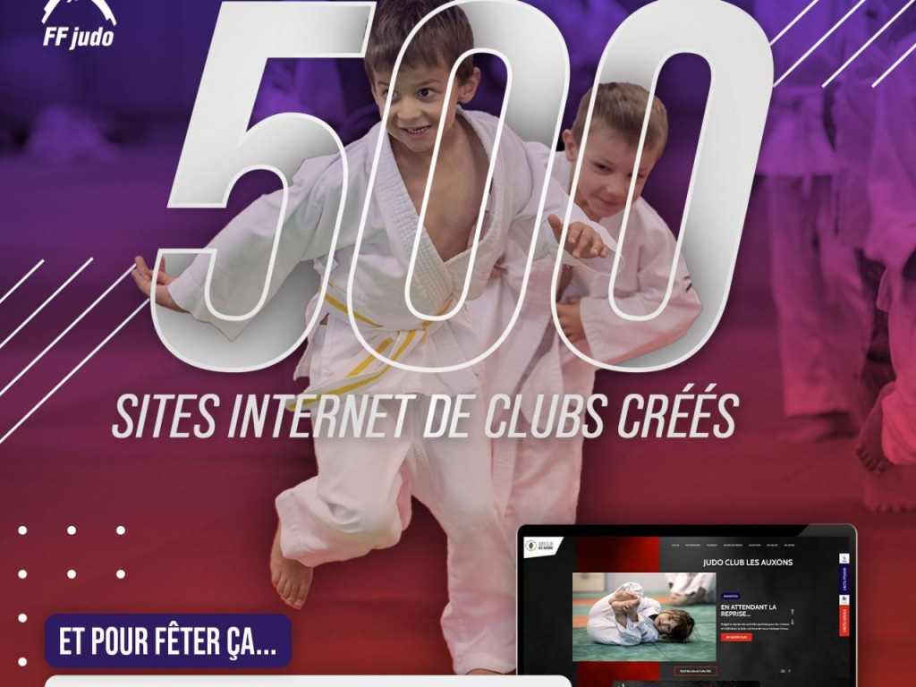 Image de l'actu 'Sites clubs FFJUDO'
